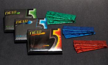 Fancy chewing gum